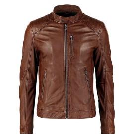 Genuine Leather  Jacket for Men's